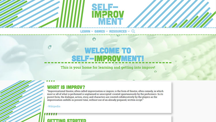 Self Improvment Home Page