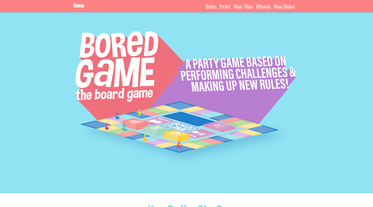 Bored Game: The Board Game Homepage